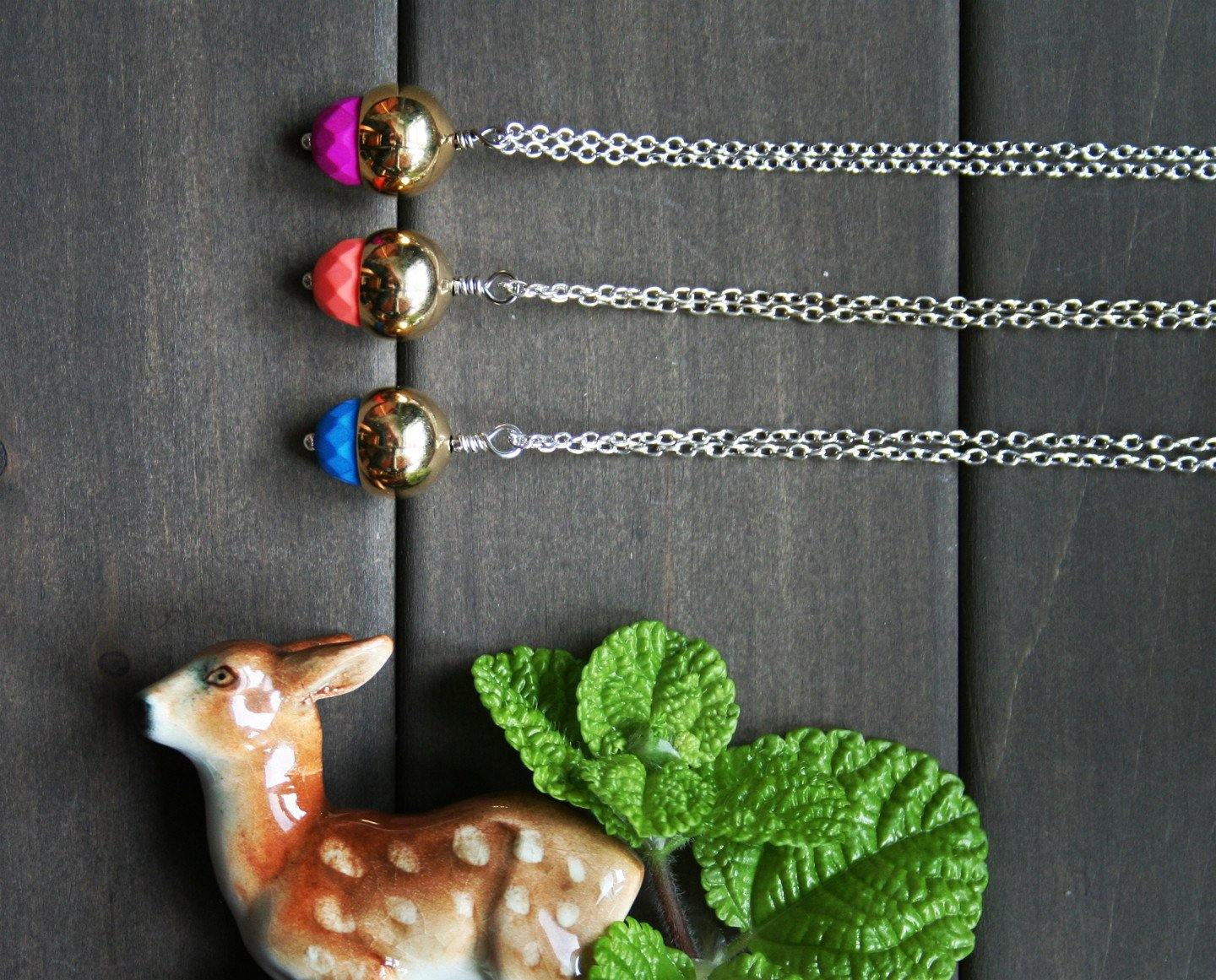 LAST CHANCE Autumn Necklace - Nea - 1