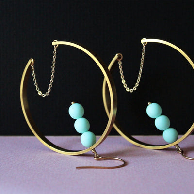 LAST PAIR Nubia Earrings
