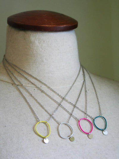 LAST ONE Topo Necklace 4 · Light Grey - Nea - 3