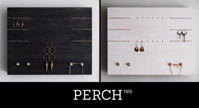PERCH no.2 Black+Blue