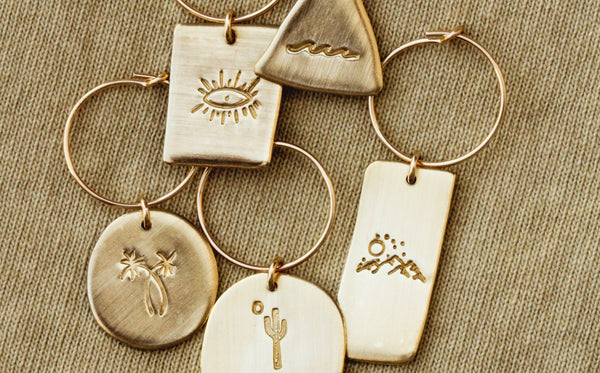 06 diy wine charms • great hostess gift