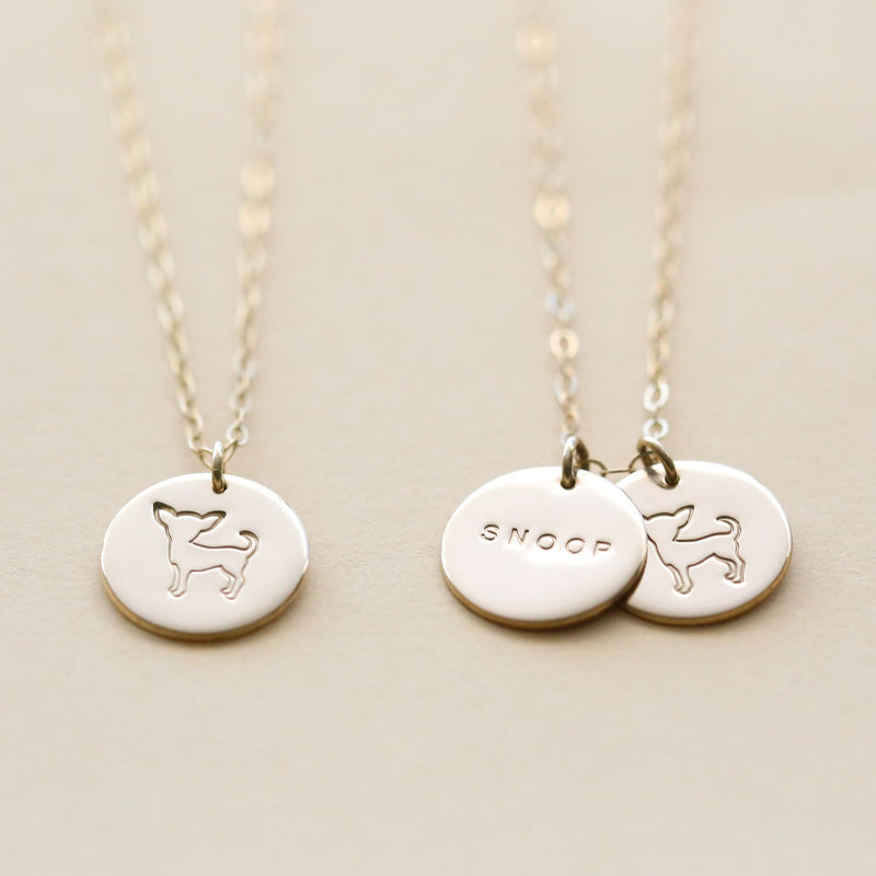 Puppy Love Chihuahua Necklace