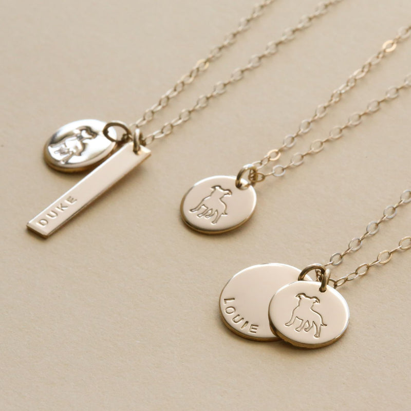 Love and Devotion Pitbull Necklace