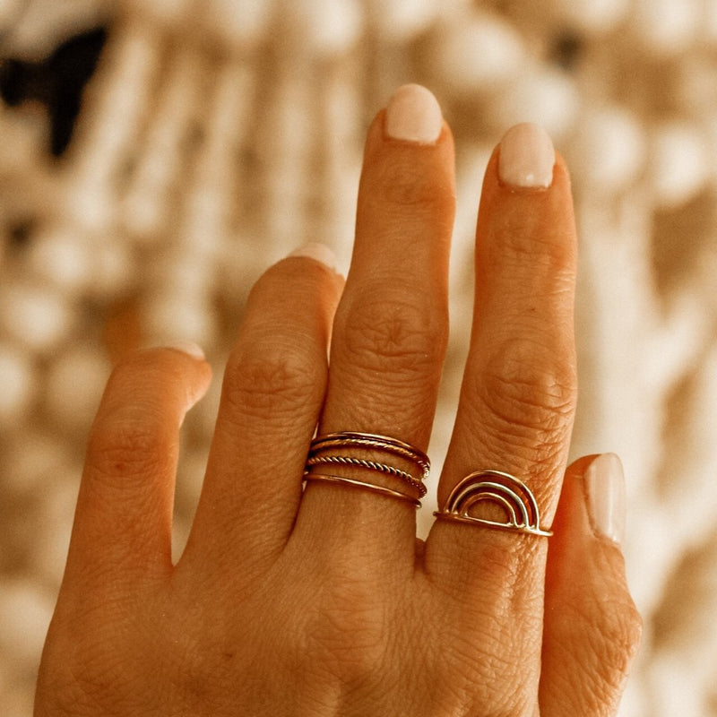 Meadow Stacking Ring