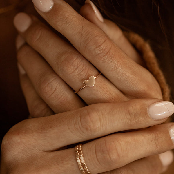 Luca Heart Ring