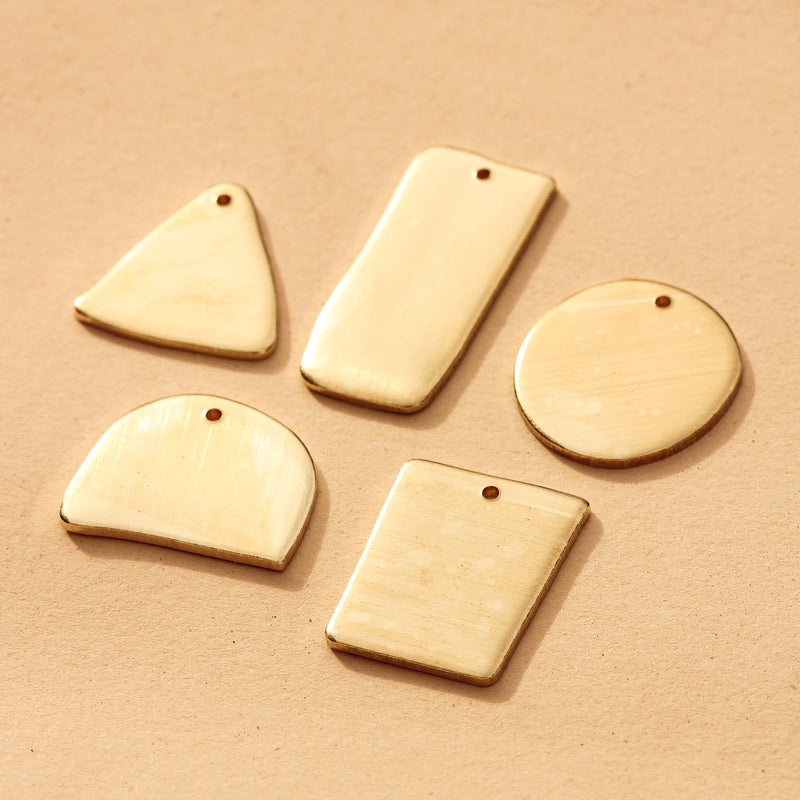 Brass Stamping Blanks for wine charm diy