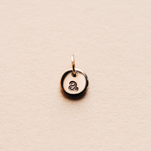 Tiny Coin Pendant or Charm