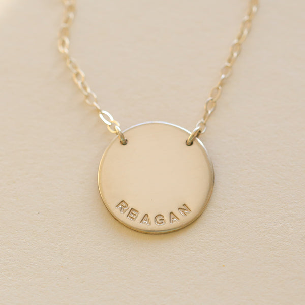 Kaylyn Disc Necklace
