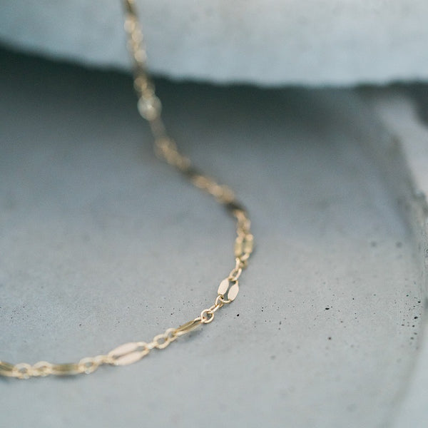 Dainty choker meant for layering or can be worn alone.