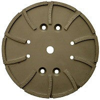 "10"" Grinding Head for Concrete and Green Concrete - Star Diamond Tools Inc. - 1"