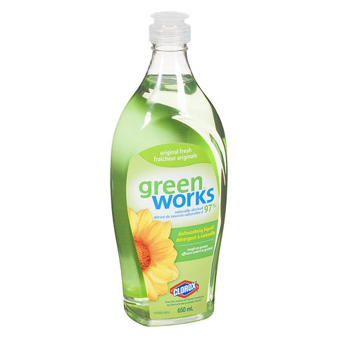 Green Works Dish Liquid
