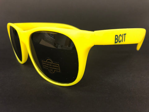 BCIT Yellow Sunglasses