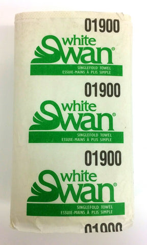 White Swan Single-fold Towel