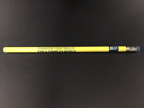 BCIT Pencil - Yellow