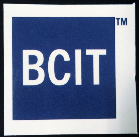 "2"" x 2"" BCIT Temporary Tattoos"