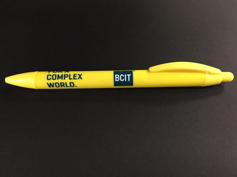 BCIT Widebody Pen - Yellow