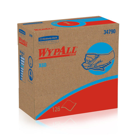 WypALL X60 Boxed Pop-Up Wipers (part 34790)