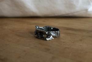 Sterling Silver Scrap Ring size 6