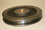 Pulley / Sheave - 12 inch W/2 inch Bronze Bushed Center - Roll Off Trailer Parts