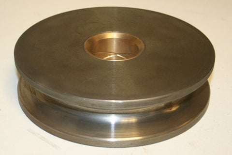 "Pulley / Sheave - 8"" W/2"" Bronze Bushed Center"