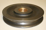 "GALBREATH Sheave Pulley 10"" w/2"" Bronzed Bushed Center"