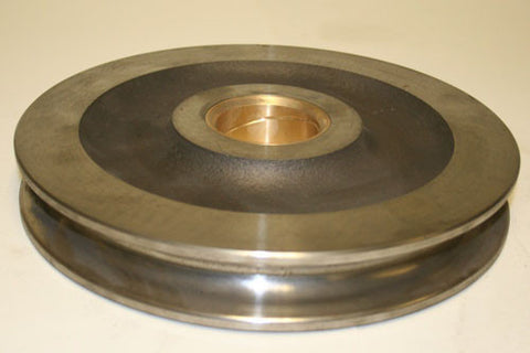 Pulley / Sheave - 12 inch w/ 2.5 inch Bore - Roll Off Trailer Parts