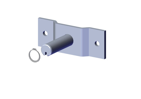 Roll-Rite 45350 Pivot Pin, 5-Spring - Roll Off Trailer Parts