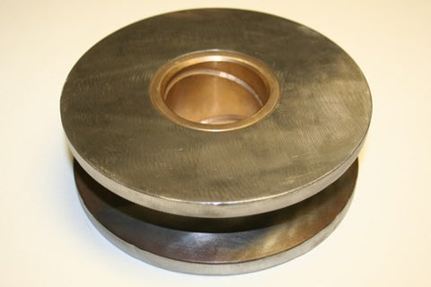 "Pulley / Sheave - 6"" W/2"" Bronze Bushed Center"