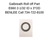 Galbreath E660 - Washer 2-1/32″ ID X 3″ OD X 10 GA