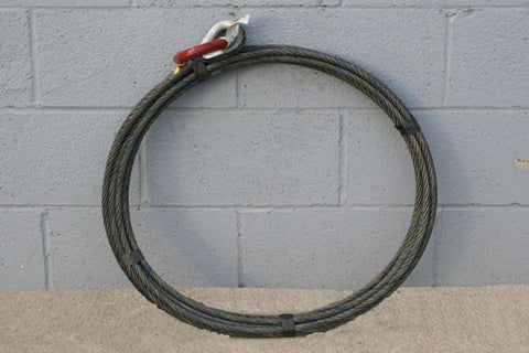 Roll Off Cable - 1/2 inch X 50 feet Standard - Roll Off Trailer Parts