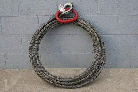 Roll Off Cable - 7/8 inch X 90 feet Standard - Roll Off Trailer Parts