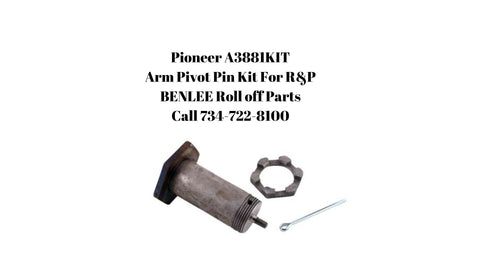 PIONEER A3881KIT Arm Pivot Pin Kit for Rack and Pinion (3 pc)