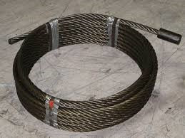 95 feet Dead Lift Cable - Roll Off Trailer Parts