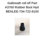 Galbreath A3760 - Rubber Boot, Hydraulic Valve Handle - A3760 - Roll Off Trailer Parts