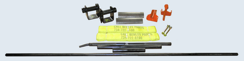 Lugger Securement Kit - 2 Strap Kit - Roll Off Trailer Parts