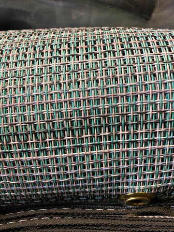 Dragon Tarp 8 feet x 28 feet Multi-Mesh Universal Tarp for Rolloff Tarp Systems