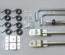 US Tarp 12223 4-Spring Steel Arm Kit - Roll Off Trailer Parts