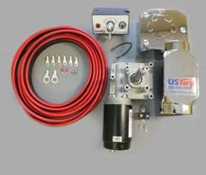 US Tarp 12224 Electric Conversion Kit w/ 50:1 Motor - Roll Off Trailer Parts