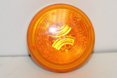 Yellow Marker Light - 2 inch - Roll Off Trailer Parts