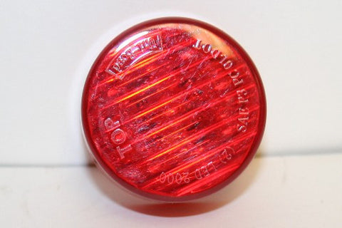 Round Red Light - LED 2""