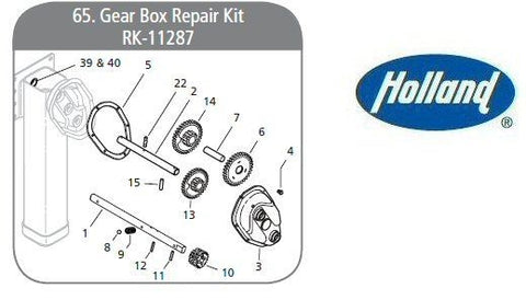 Holland RK-11287 Repair Kit, Gear Box 2 Speed - Mark V - Roll Off Trailer Parts