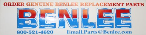 BENLEE Genuine Replacement Parts Sticker - Roll Off Trailer Parts