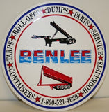 BENLEE 6 inch Decal - Roll Off Trailer Parts