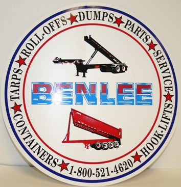 "BENLEE 12"" Decal"
