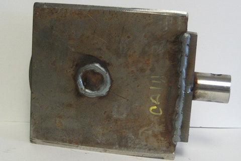 Galfab MA927 Sheave Shaft Block 10 in - Roll Off Trailer Parts