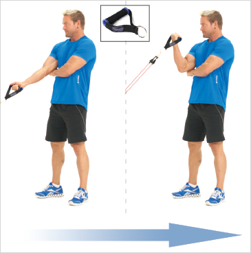 Standing One Arm Biceps Preacher Curls (Anchor)