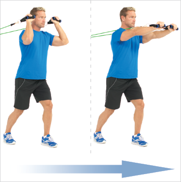 Forward Triceps Extensions