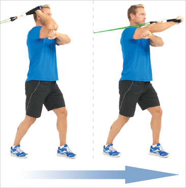 One Arm Forward Triceps Extensions