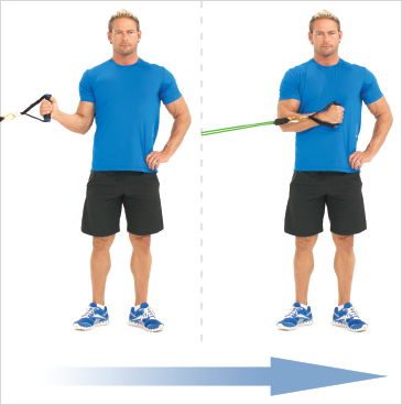 theraband stretch strap instructions
