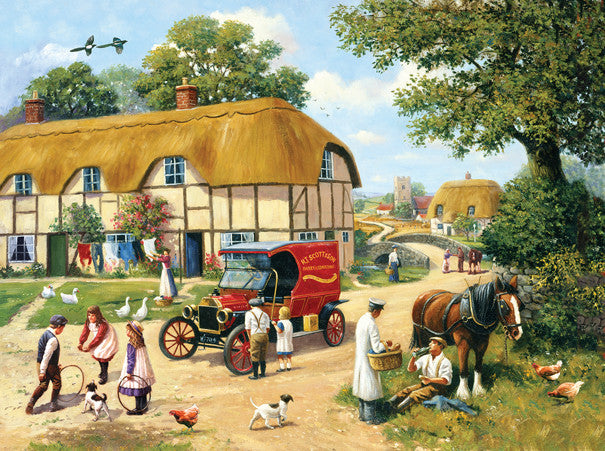 The Village Baker Jigsaw Puzzle 1,000 Pieces Kevin Walsh - Mr Puzzle Head